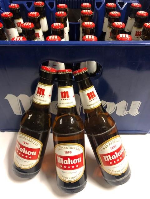 caja botellines mahou