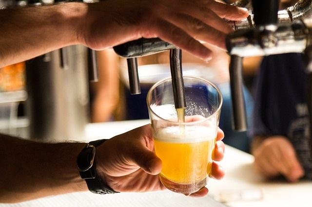 Barril Mahou de Cerveza