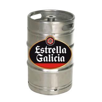 Barril Estrella de Galicia madrid