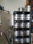 barriles de cerveza mahou madrid
